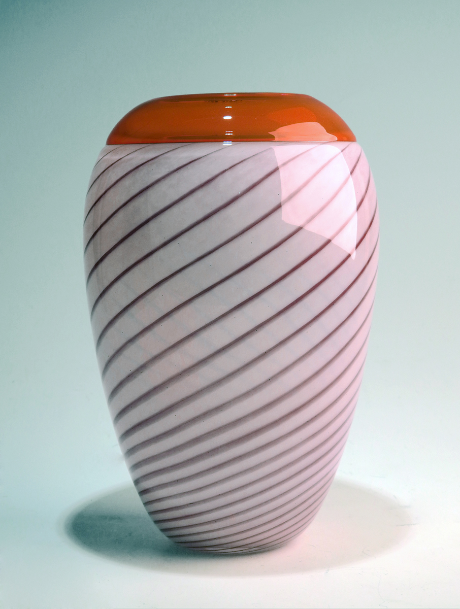 Purdy Pot/Ruby w/Oran... by  Mark Leputa - Masterpiece Online