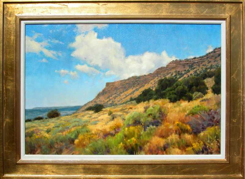 Late Summer Chamisa a... by  Peter Hagen - Masterpiece Online