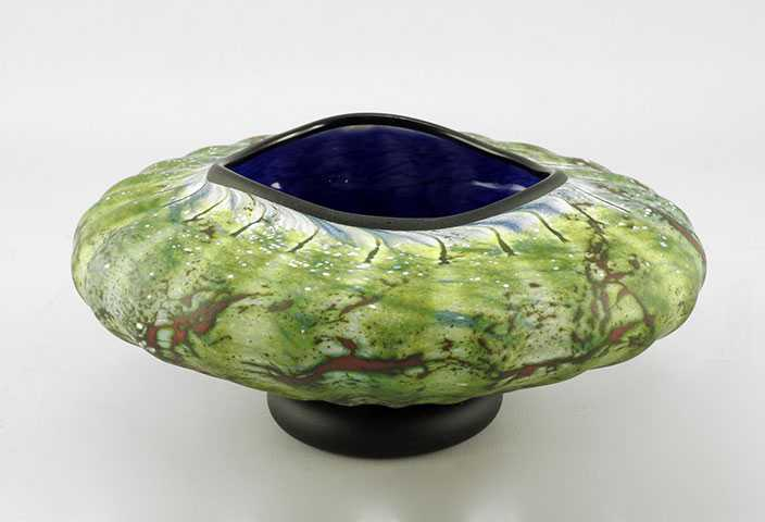 Primitive Bowl/Cobalt by  Danielle Blade/Stephen Gartner - Masterpiece Online