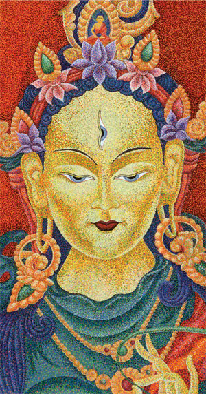 Mother Tara:  Angel o... by  Sherab (Shey) Khandro - Masterpiece Online