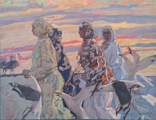 Essaouira Promenade 1 by  Daud Akhriev - Masterpiece Online
