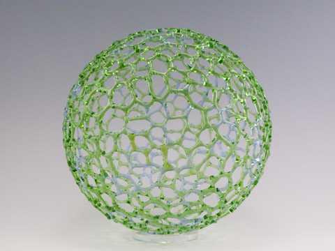 Knobby Green & Purple... by  Bandhu Scott Dunham - Masterpiece Online