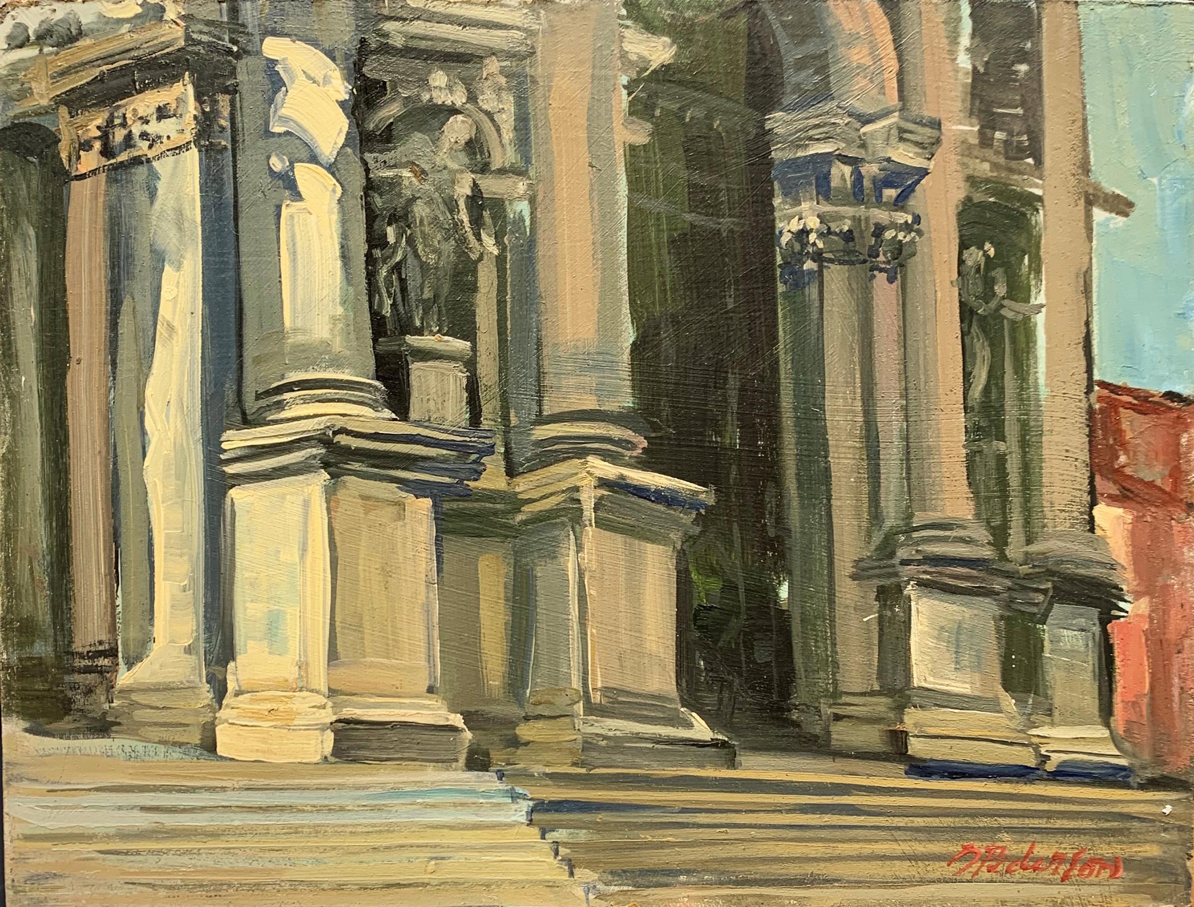 Santa Maria Della Sal... by  Doloris Pederson - Masterpiece Online