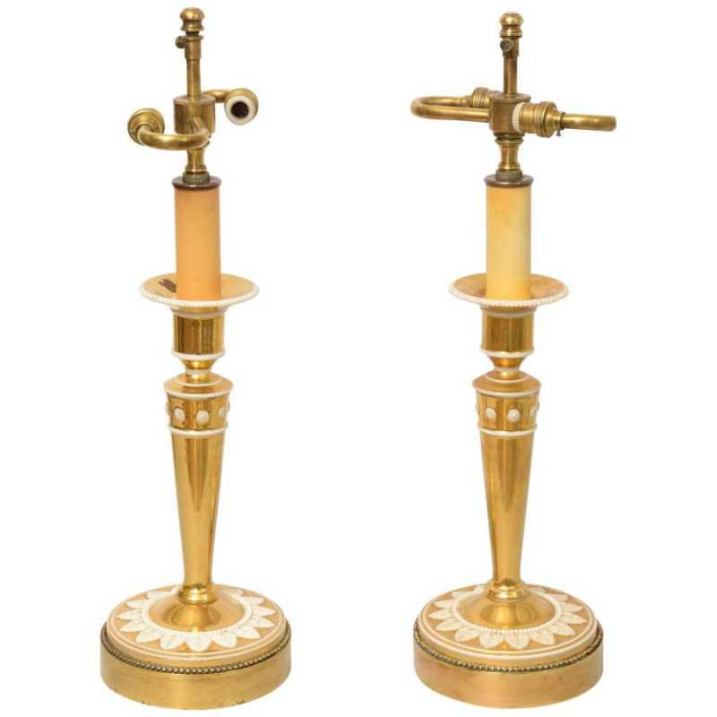 Fine Pair of Gilt Por... by  French  - Masterpiece Online