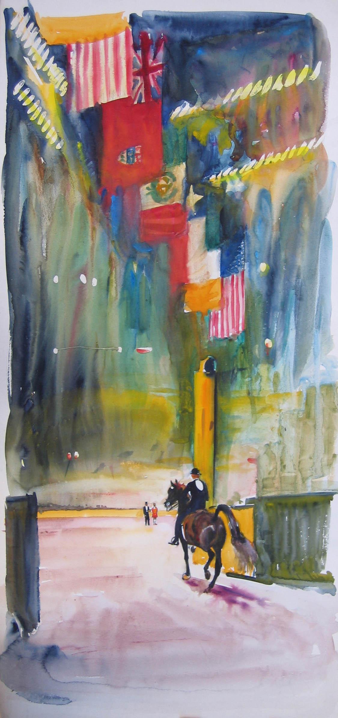 Horseshow - Madison S... by  Robert Lougheed - Masterpiece Online