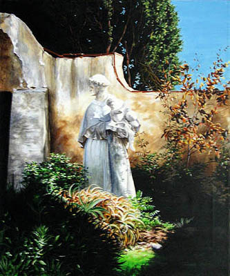 St Francis and the Ho... by   Teresa  Wheeler - Masterpiece Online