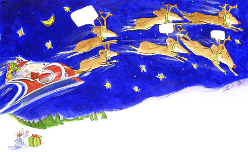 Mouse In Sleigh by  Thacher Hurd - Masterpiece Online