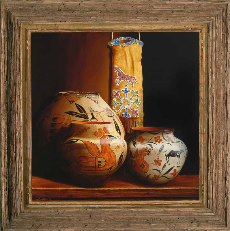 Rare Oto Tobacco Bag ... by  Chuck Sabatino - Masterpiece Online
