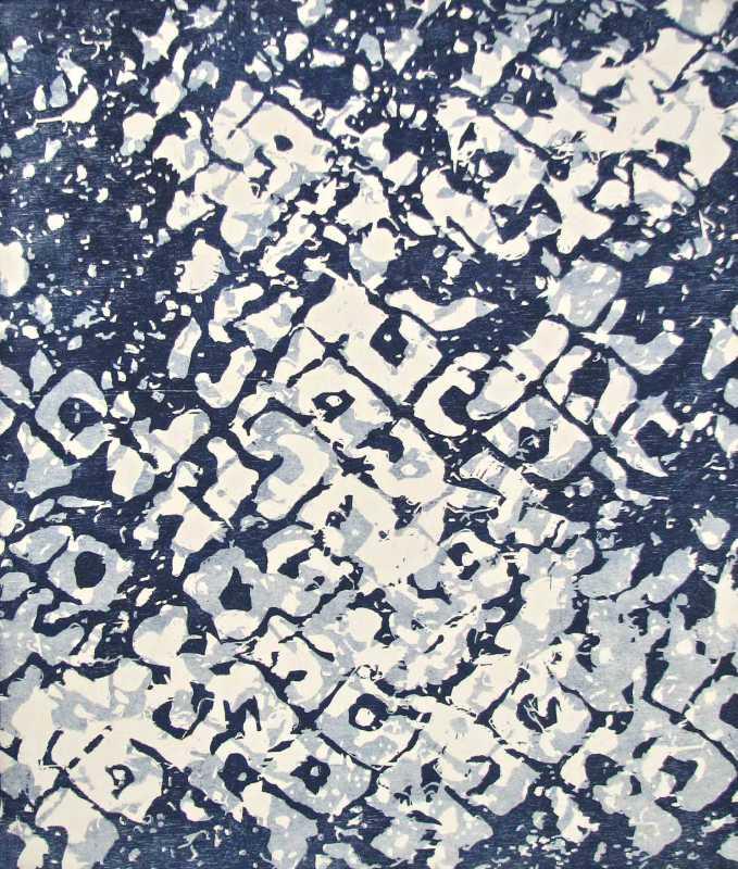Ko'Eau IV (Indigo) by  Abigail Romanchak - Masterpiece Online