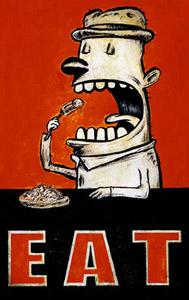 Eat  by  Dan Peacock Prints
