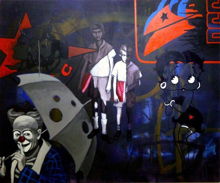 TELON DE FONDO, CON C... by Mr. RAFAEL LOPEZ-RAMOS - Masterpiece Online