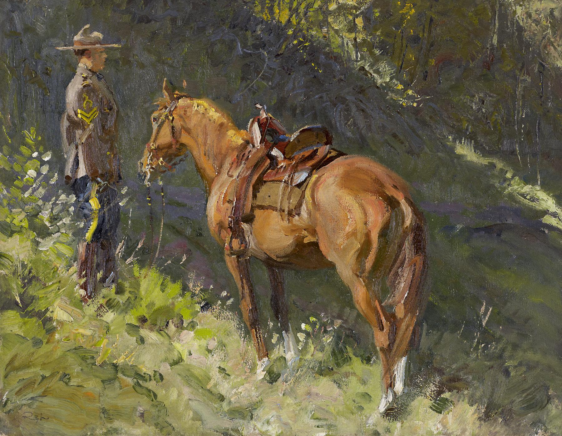 Corporal Wilson by  Robert Lougheed - Masterpiece Online