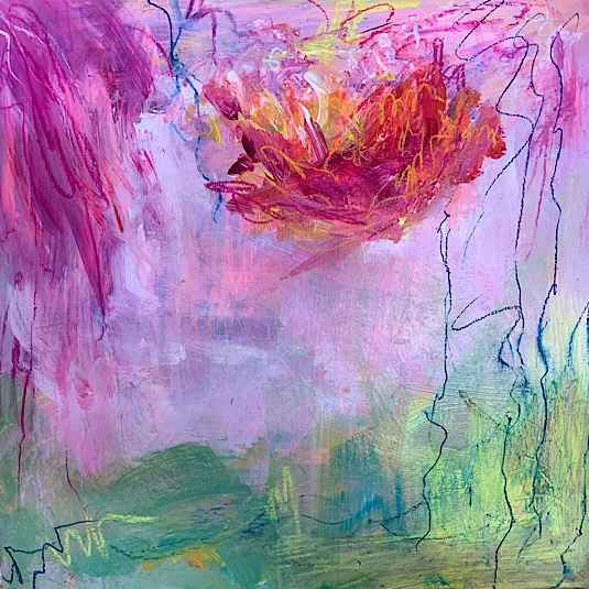 This is Fireworks by  Laurie Kwo  art collection of East End Gallery represented by East End Gallery from Evanston, IL, United States - Masterpiece Online