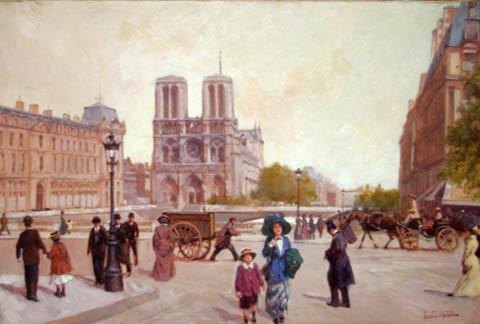 Notre Dame by  Leon Zeytline - Masterpiece Online