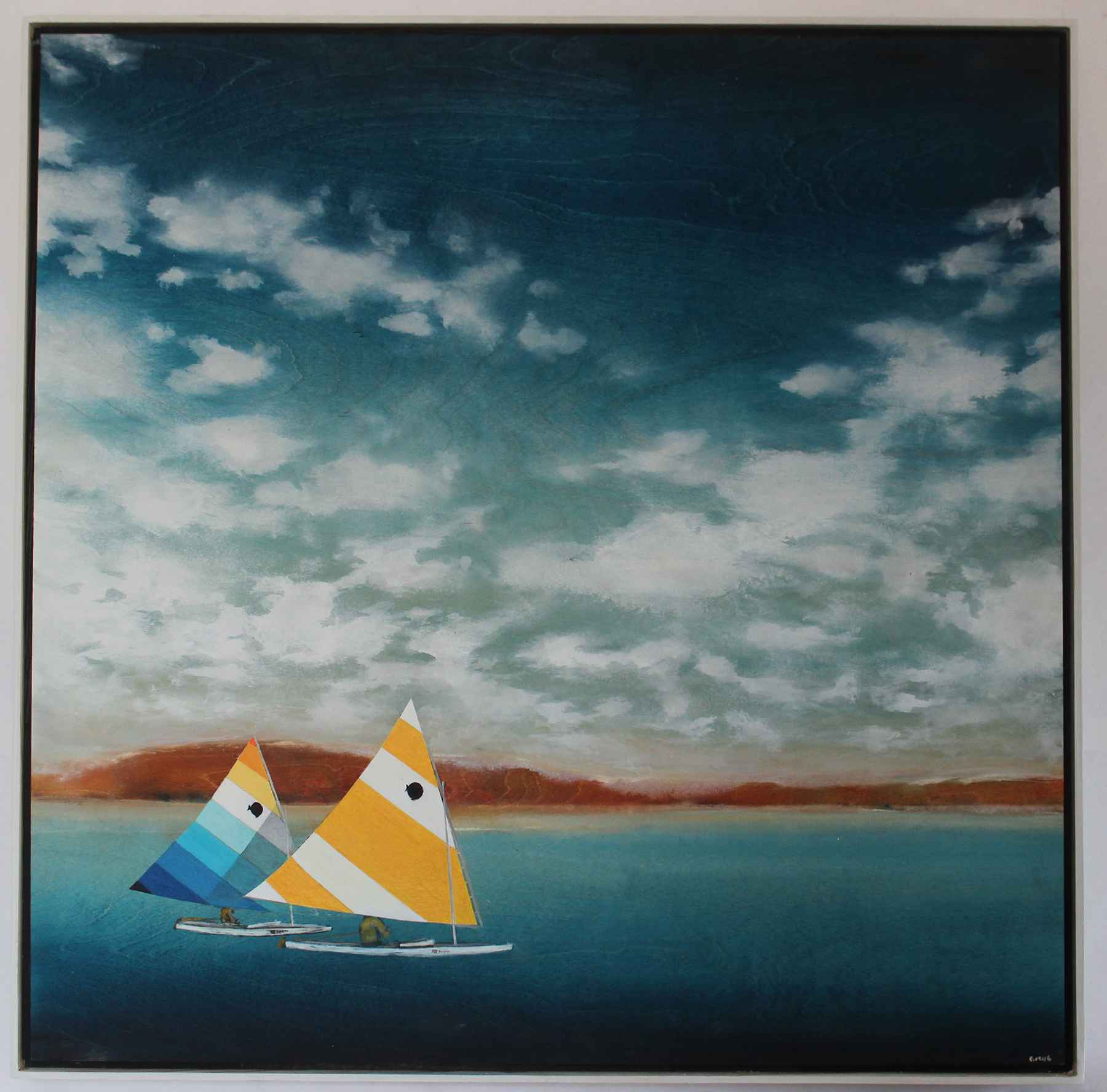 Two Sunfish by  Colin Ruel - Masterpiece Online