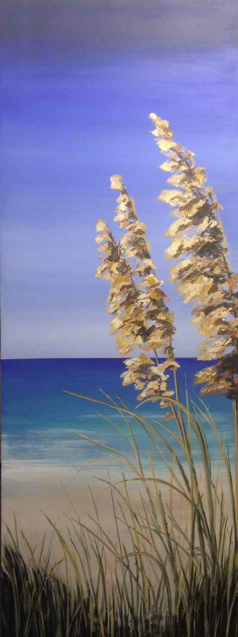A Day At The Beach by  Janet Liesemer - Masterpiece Online