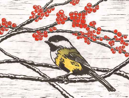 Chickadee by  Katherine Grey - Masterpiece Online