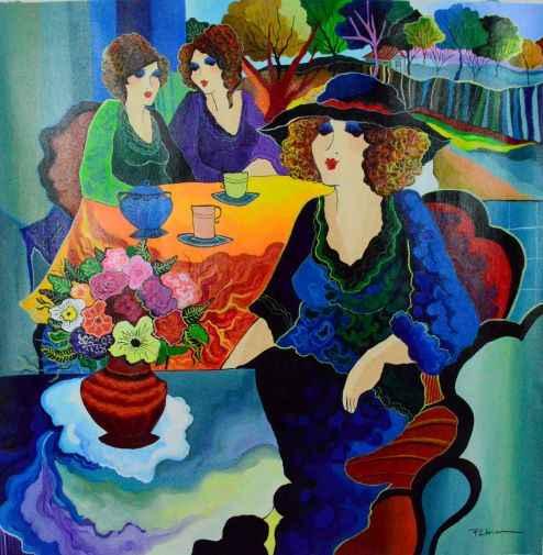 Peaceful  by  Patricia Govezensky