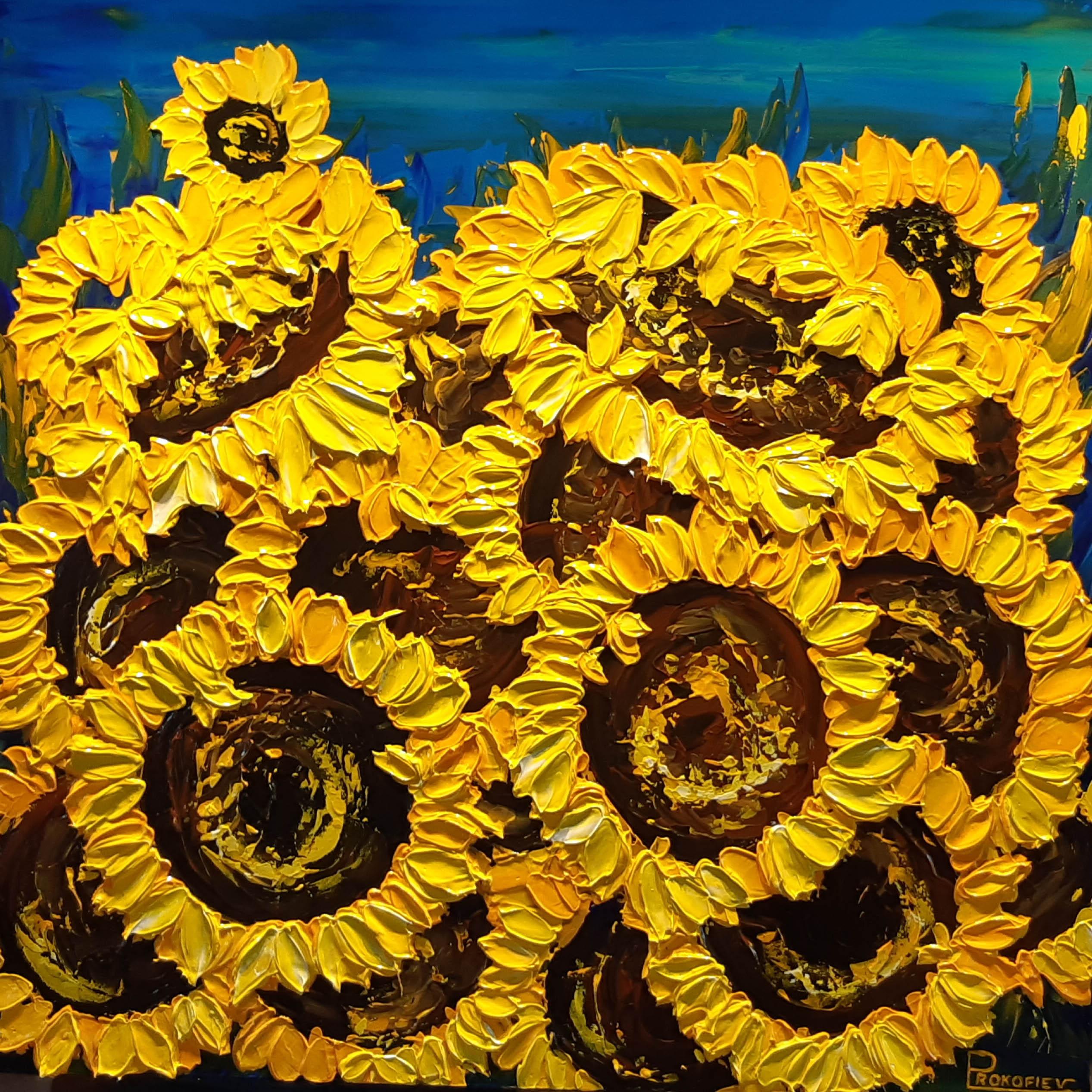 Sunburst by  Everist Prokofiev - Masterpiece Online