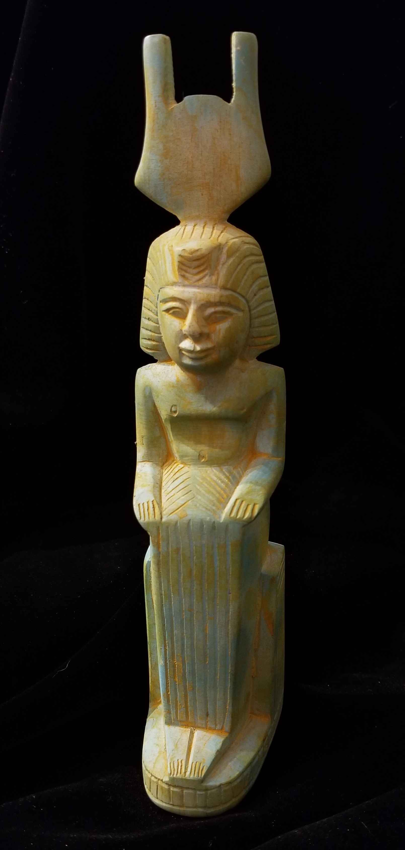 Isis Sitting by  Egyptian Treasures - Masterpiece Online