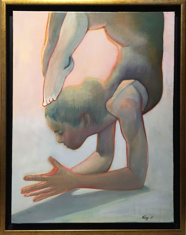 Yoga Study #11 by  Vinny K - Masterpiece Online