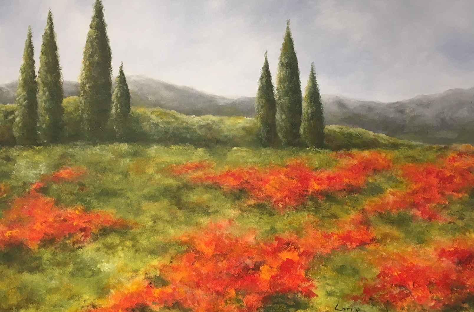 Springtime in Tuscany by  Doris Pontieri - Masterpiece Online