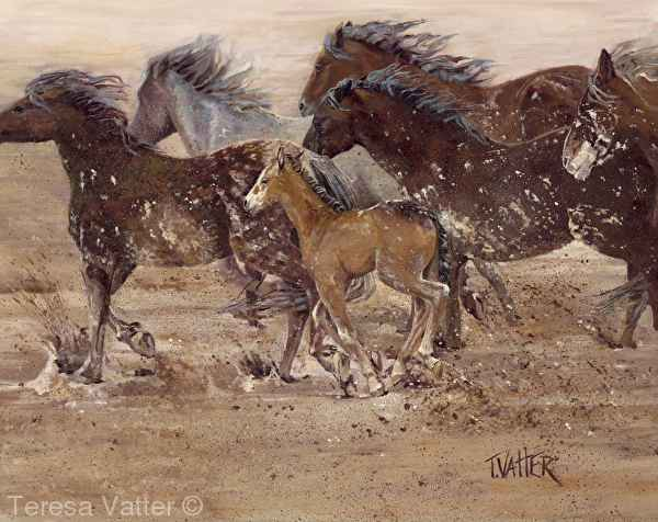 Chasing the Rain by Mrs Teresa Vatter - Masterpiece Online