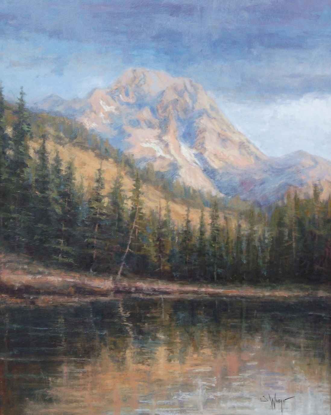 Mount Moran  by  Simon Winegar