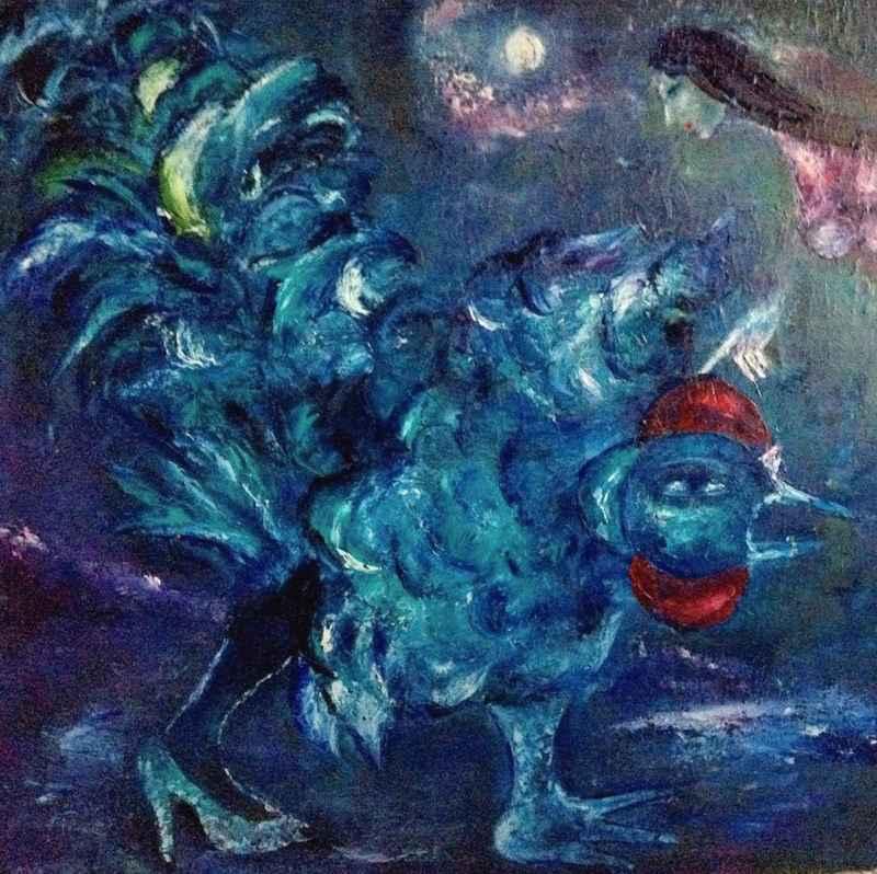 Coq bleu by   TINTIRIS - Masterpiece Online