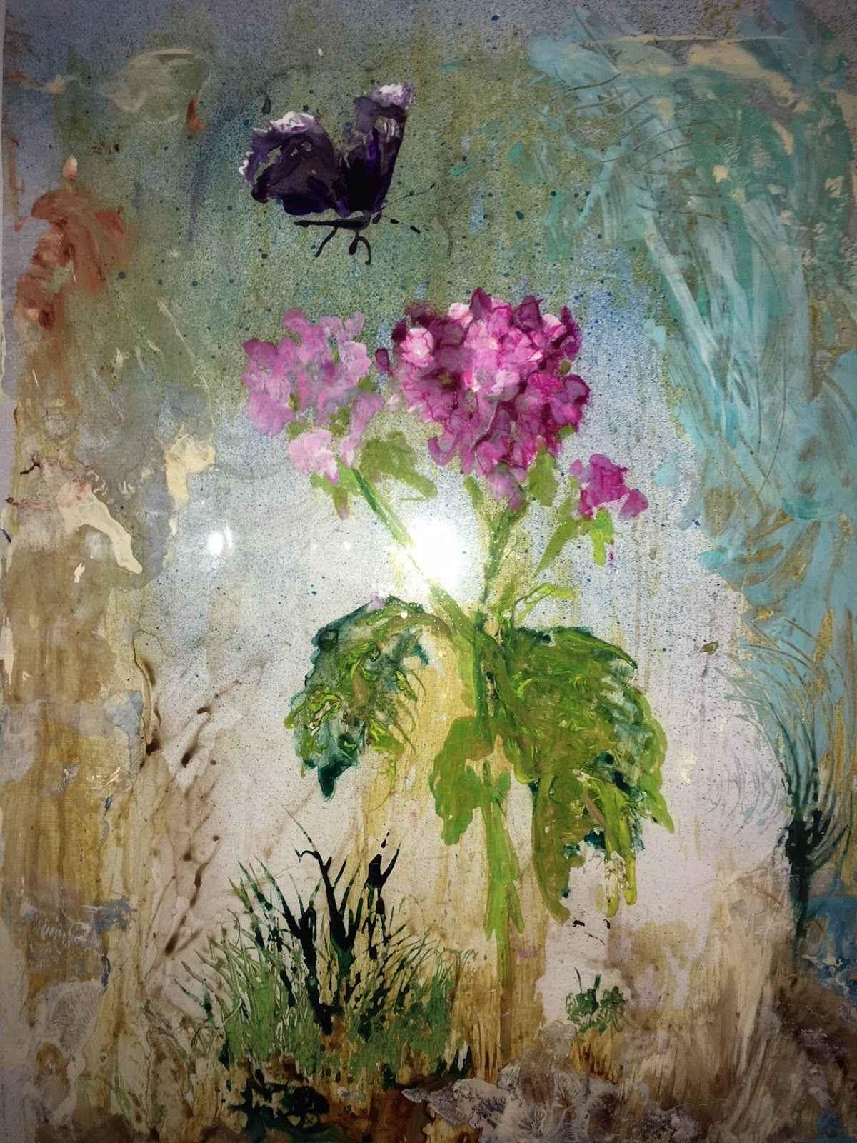 Butterfly  by  Linda McKie McClellan