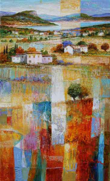 By the Lake by  Mario Malfer - Masterpiece Online