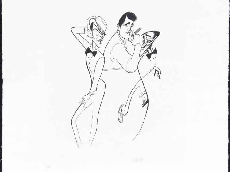 The Summit by  Al Hirschfeld - Masterpiece Online