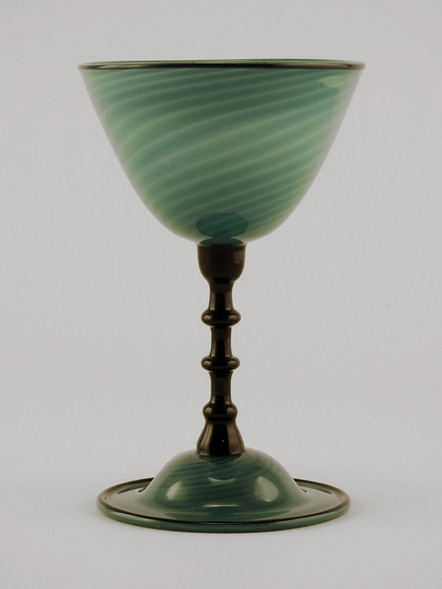 Goblet/Teal by  Lance & Maureen Mc Rorie - Masterpiece Online