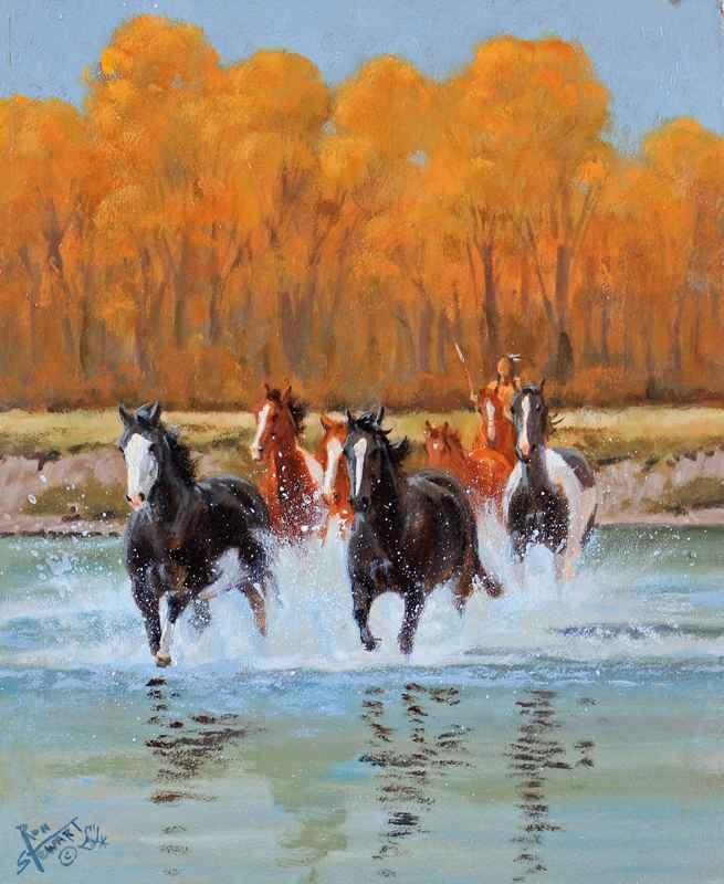 Autumn Escape represented  by  Ron Stewart