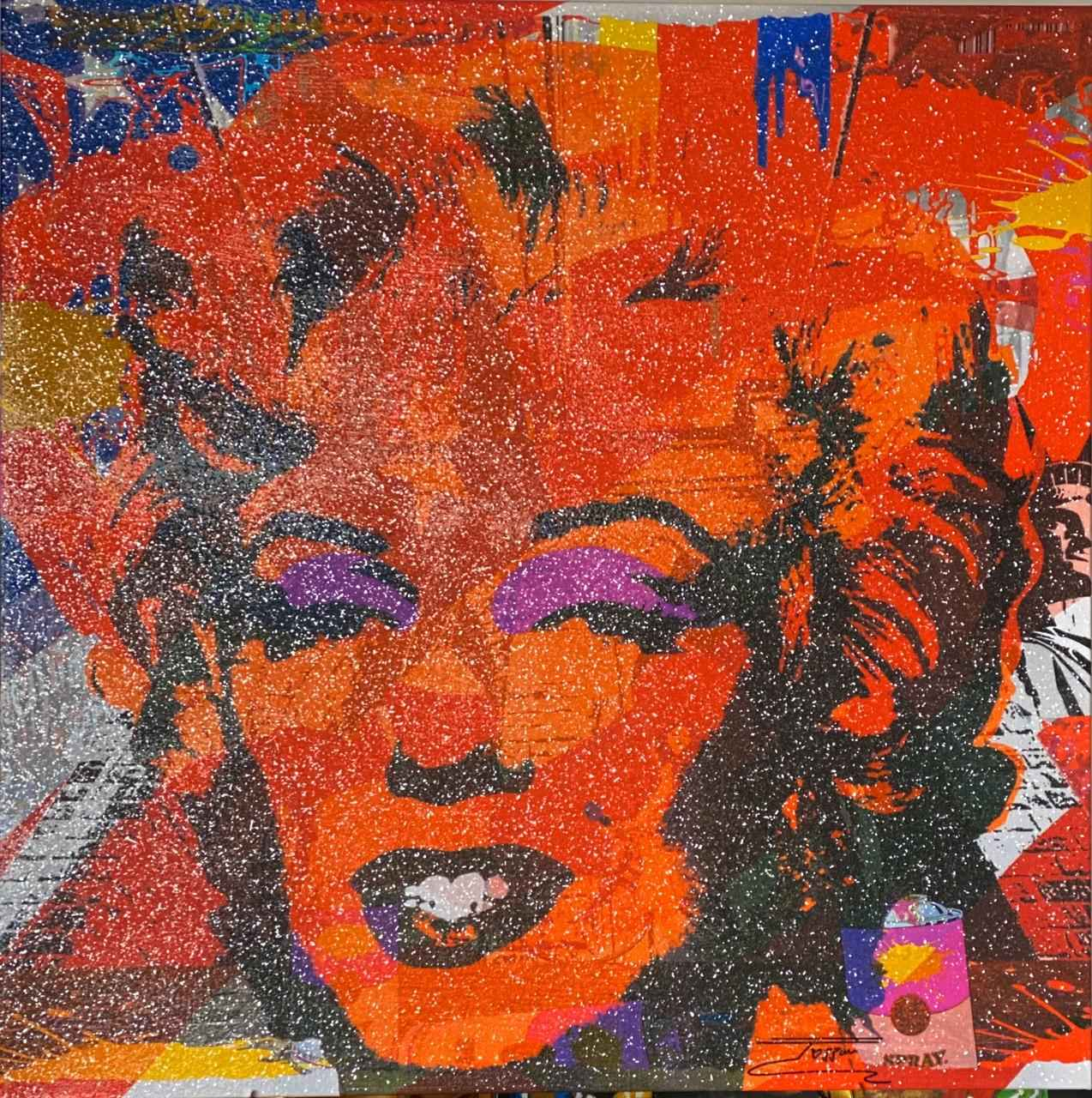 Marilyn Monroe Flag D...