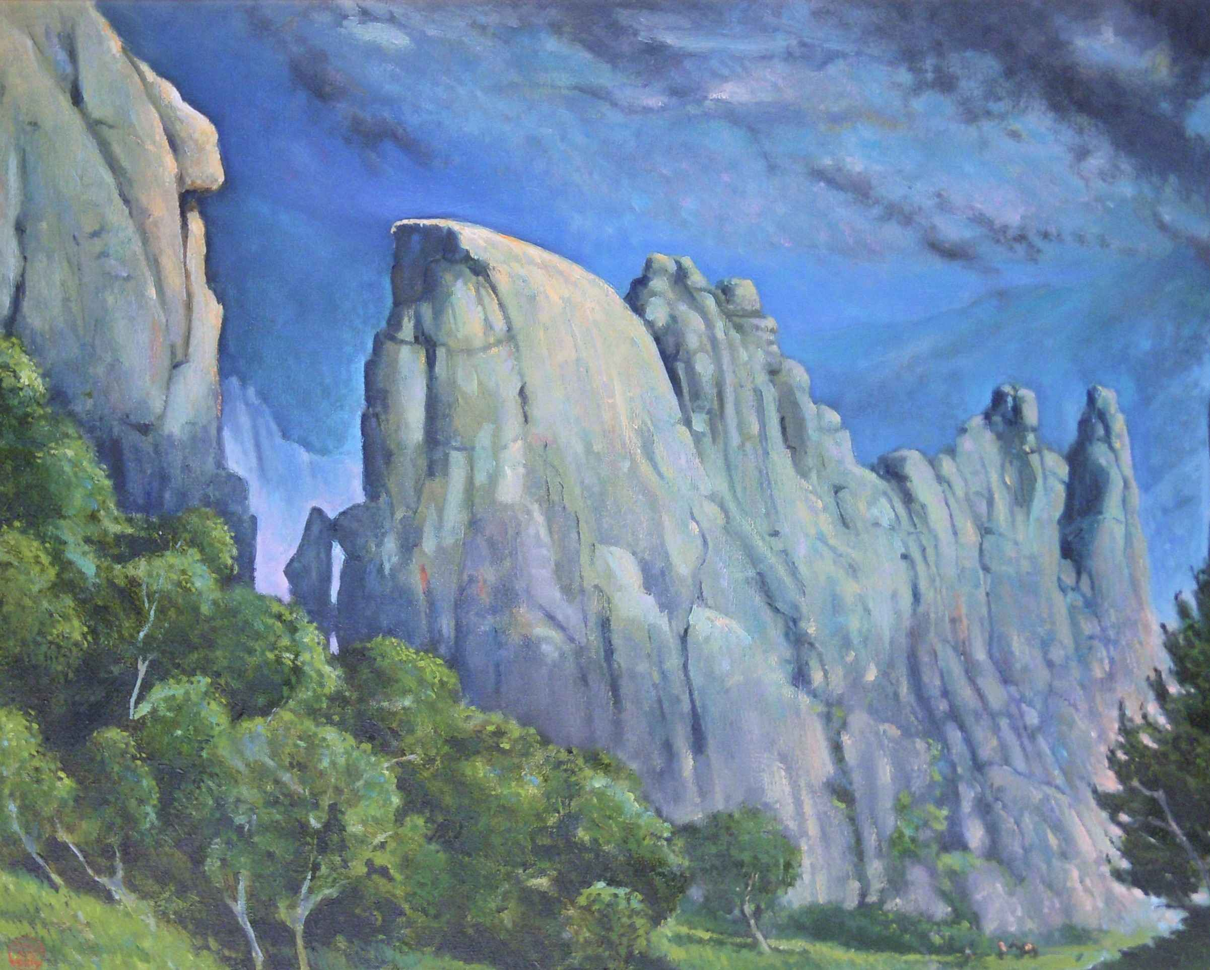 Unknown (Mountains) by  Leland John - Masterpiece Online