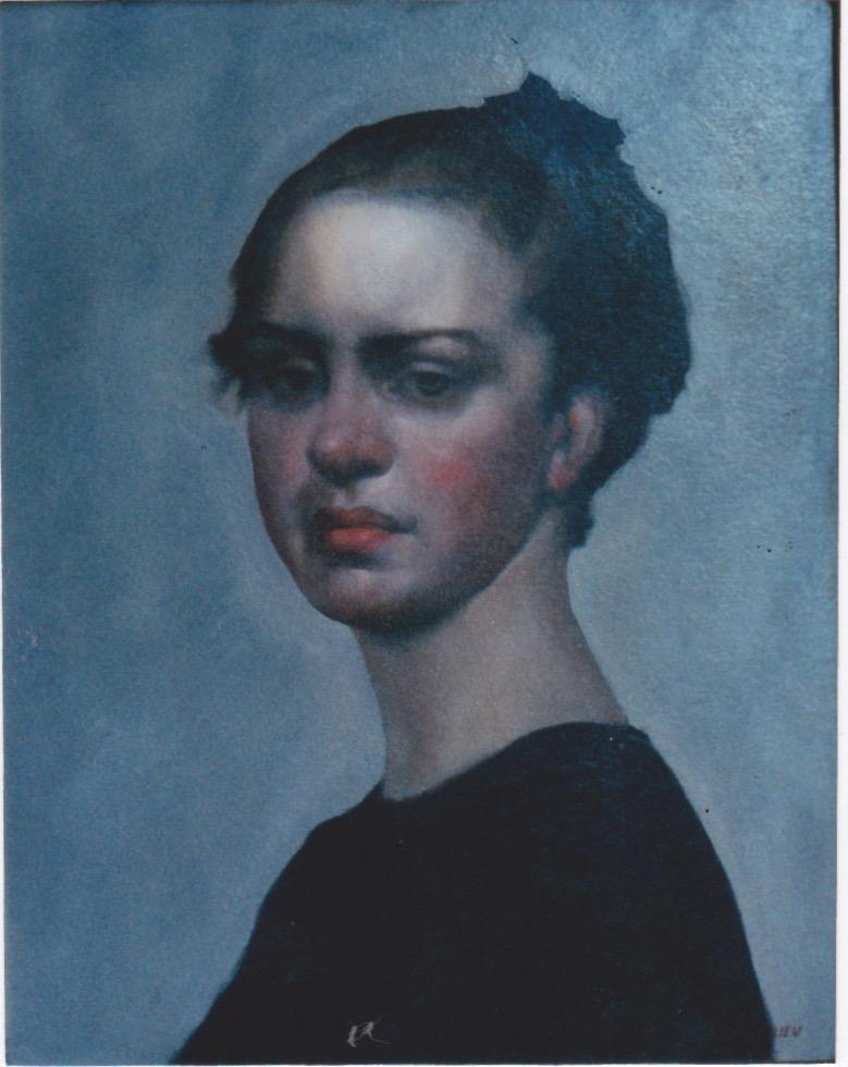 Balerina, Head Study by  Daud Akhriev - Masterpiece Online