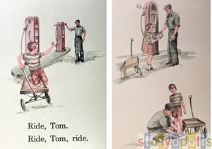 Ride Tom  by  Odille Ousley
