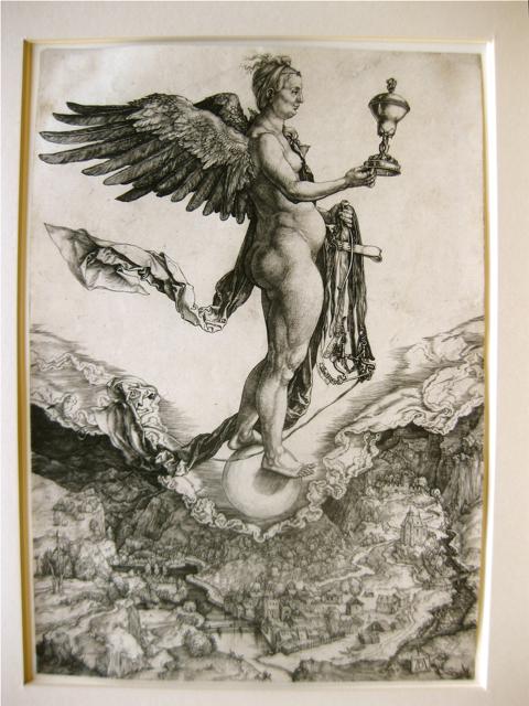 Nemesis by  Albrecht Durer (1471-1528) - Masterpiece Online