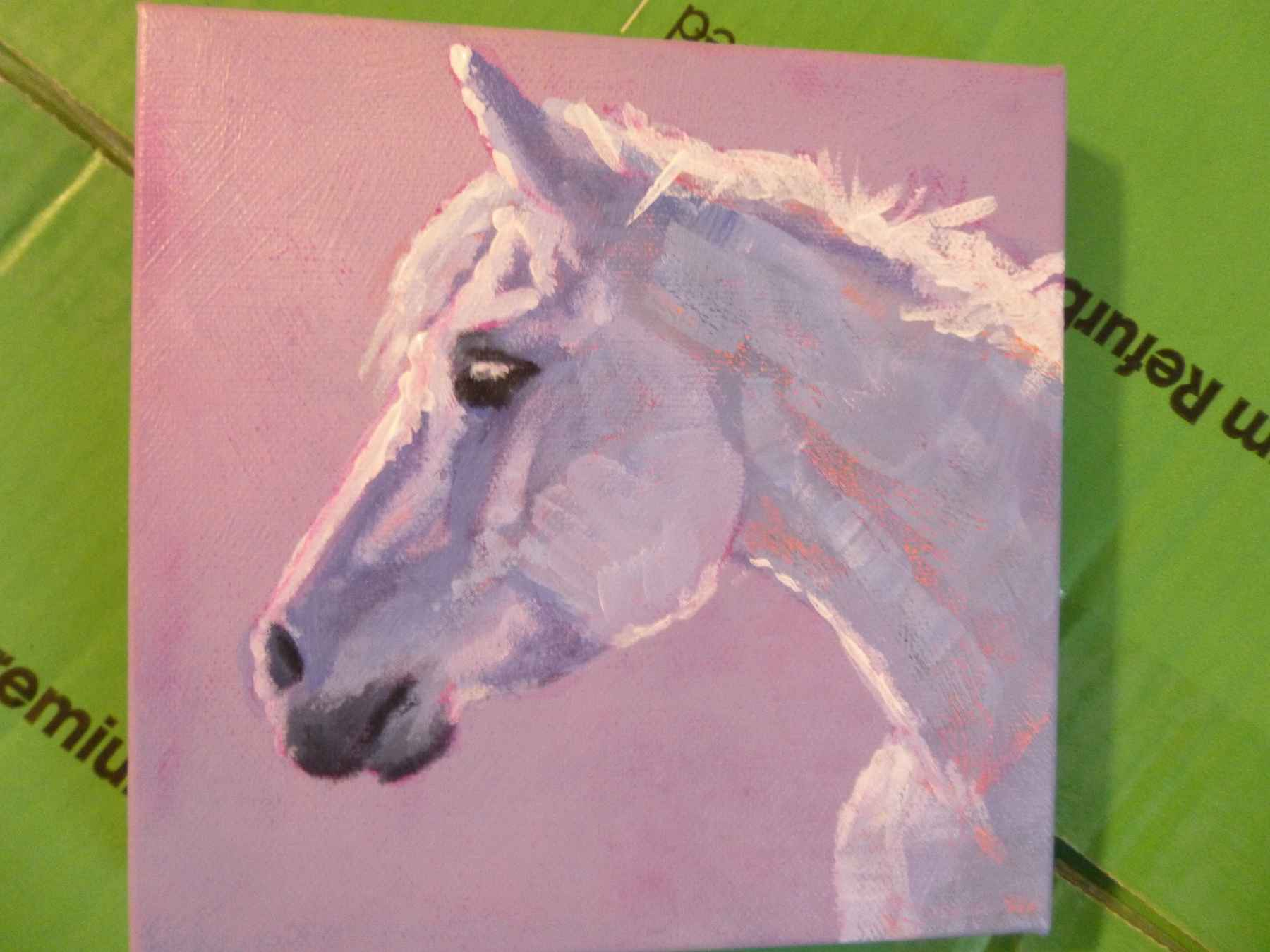 Grey Horse by  Pat Albee - Masterpiece Online