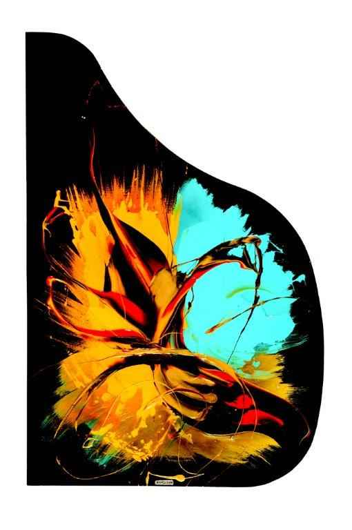 Piano Steinway Cover