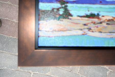 Brown Fl Deep Dish 92... by  New Concept  - Masterpiece Online