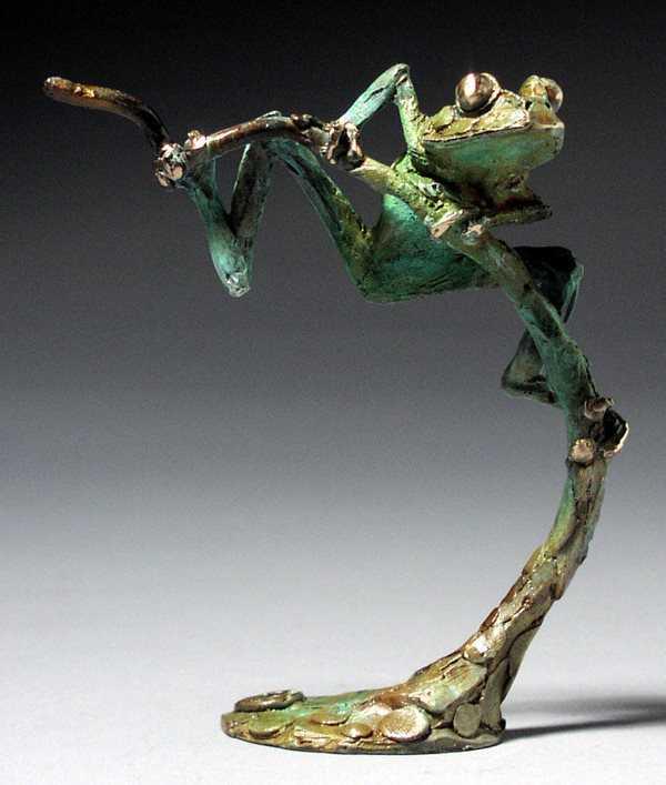 Tree Frog 'A'  by  Dan Chen