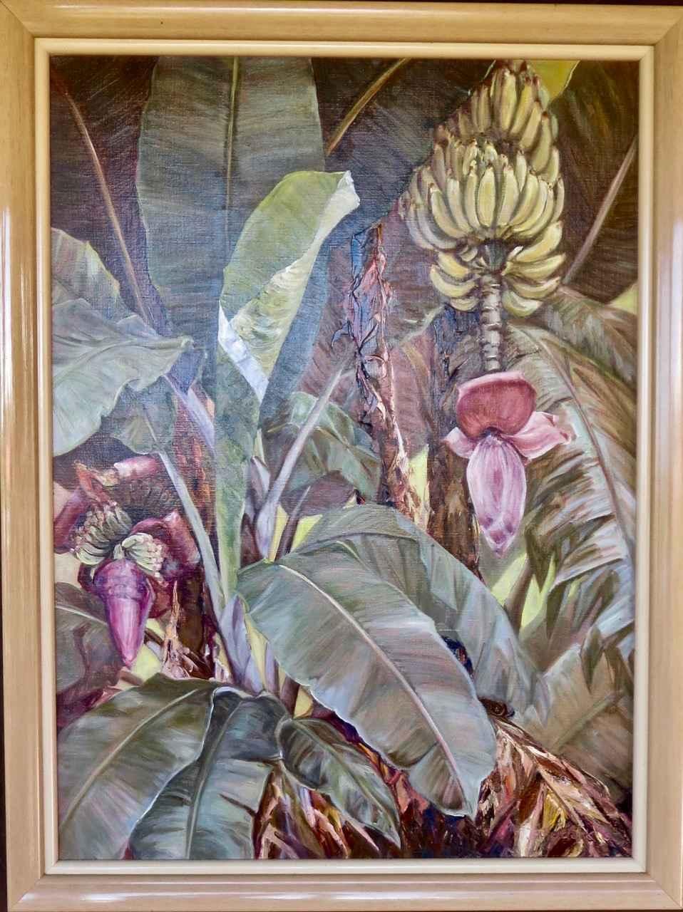 Banana Patch by  Joyce Clark (1916-2010) - Masterpiece Online