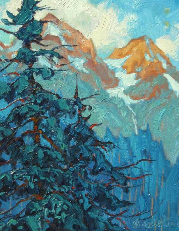 Below Mount Baker by  Dominik Modlinski - Masterpiece Online