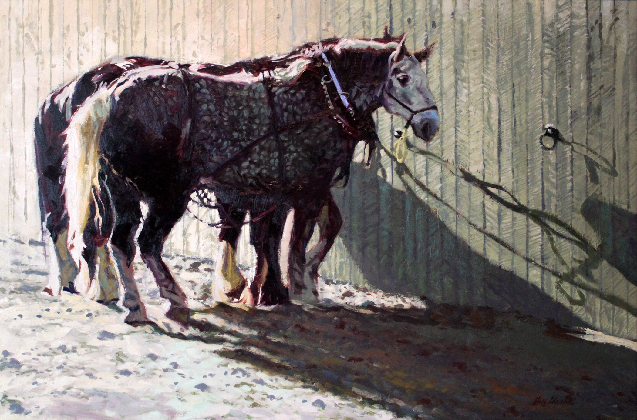 Long Shadows by  Glen Edwards - Masterpiece Online