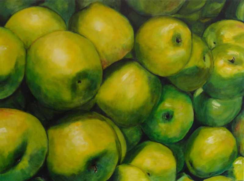 Georgian Apples 4 by Ms Pat Ransom - Masterpiece Online