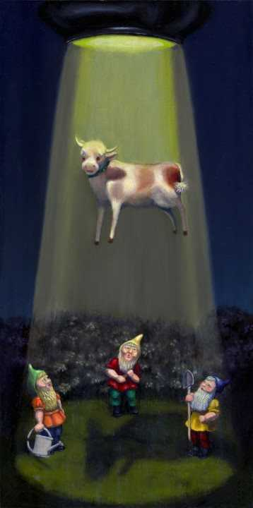 Abduction in Gnometown by  Carey Armstrong-Ellis - Masterpiece Online