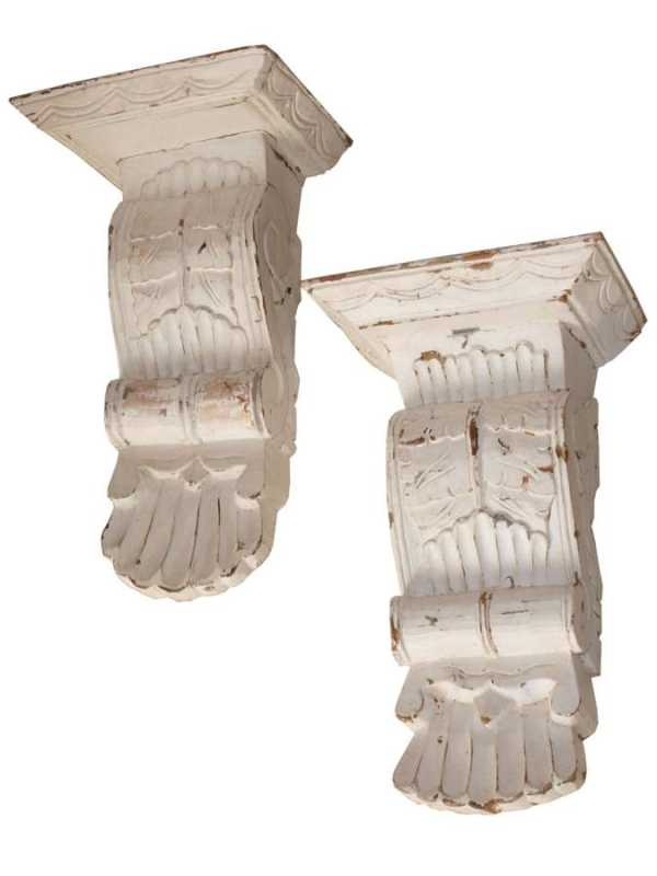 Pair of Wall Brackets by  None None - Masterpiece Online