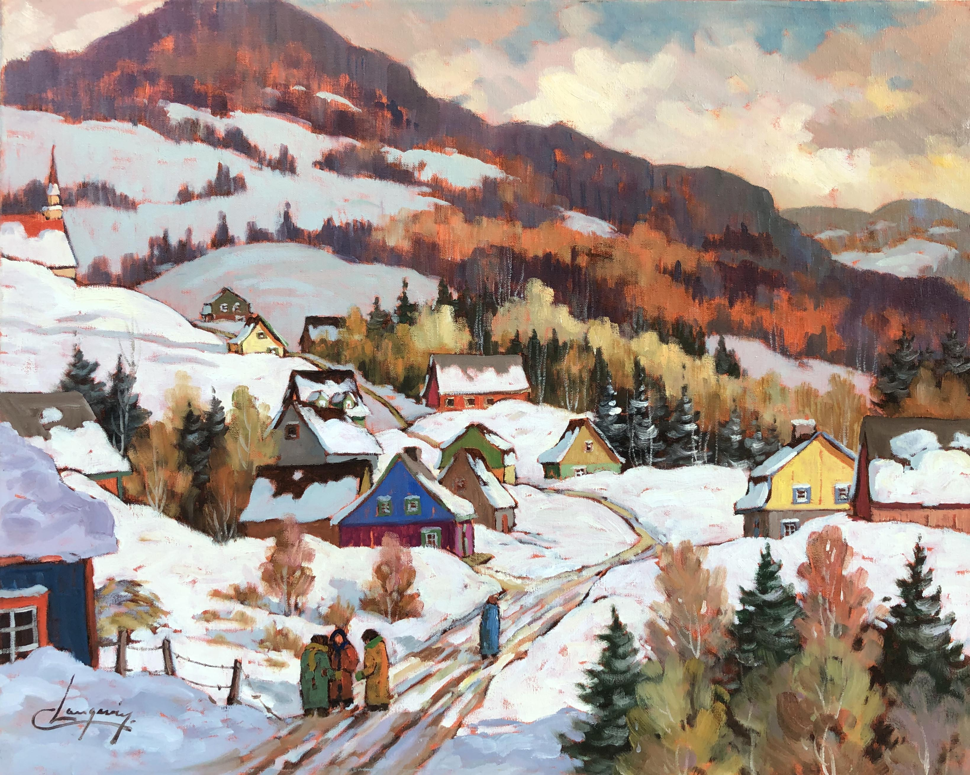 Entre Amis by  Claude Langevin - Masterpiece Online